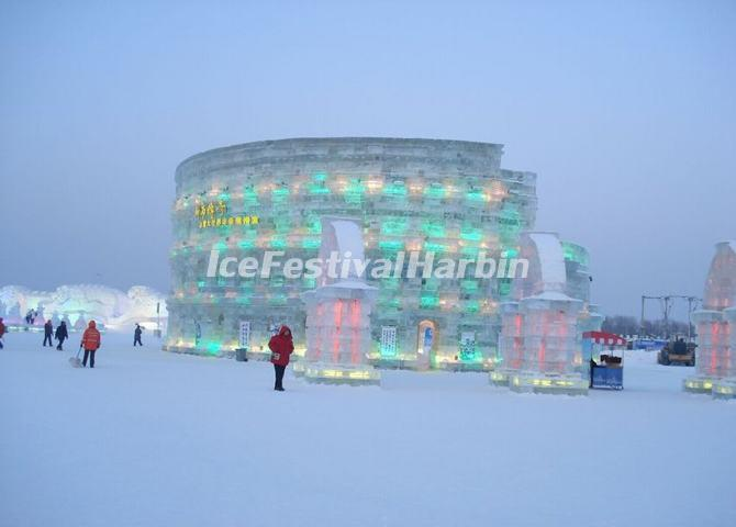 The Ice Colosseum