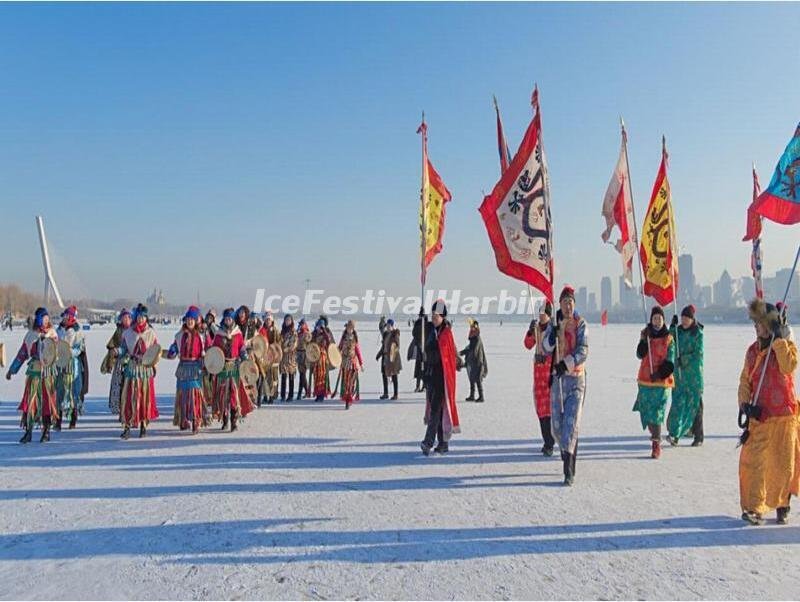 Harbin Ice Collecting Festival 2019