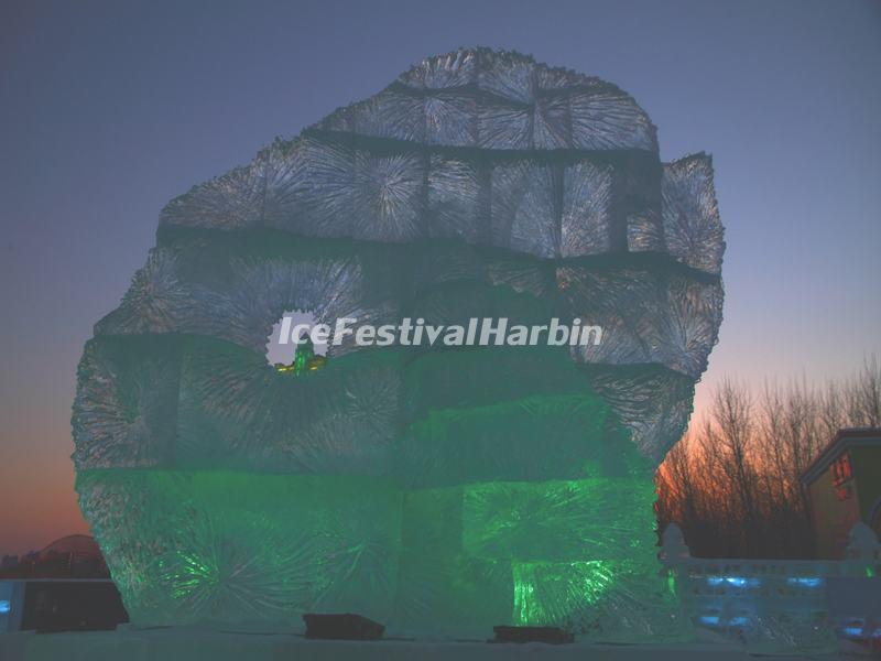 Ice Sculpture in Harbin Ice Festival 2015