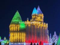 Harbin Ice Festival - Ice Castle
