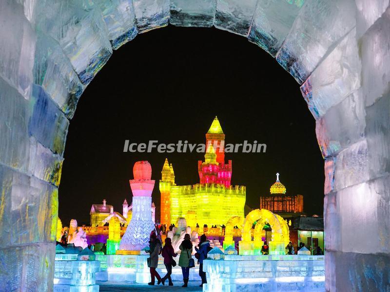 Harbin Ice Festival 2015