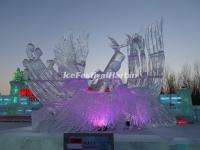 Ice Sculpture Harbin Ice Festival 2015