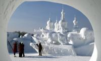 Harbin Ice Festival 2015 Snow Sculpture