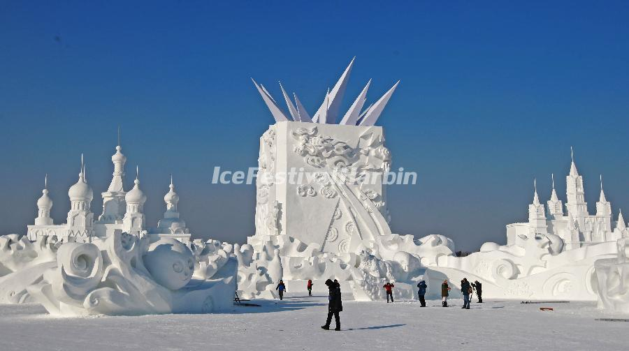 Opening Dates Of The Theme Parks Of Harbin Ice Festival 2015