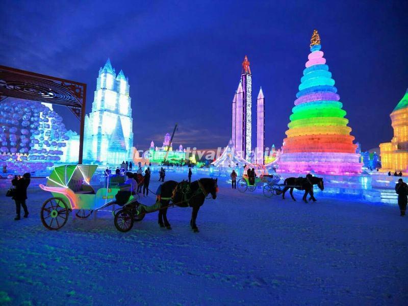 Ice Festival Harbin 2015