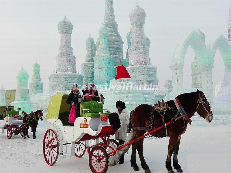 Harbin Ice Festival 2017