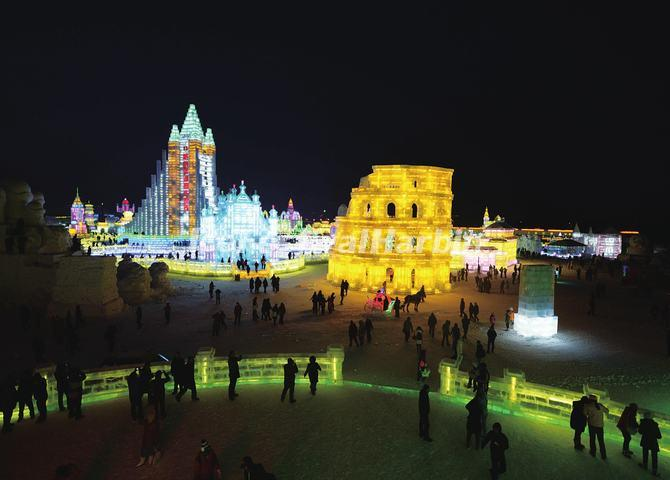 Harbin Ice Festival Slideshow