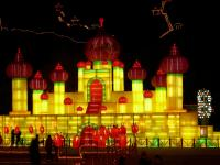 Harbin Ice Lantern Art Fair Wallpaper