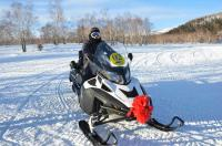 Snowmobiling in Harbin
