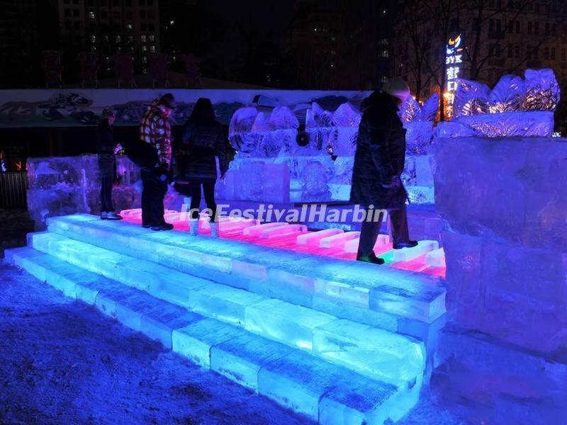 The Seahorse Ice Piano in Harbin Zhaolin Park