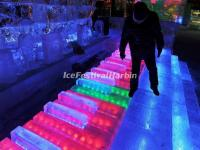 The Ice Piano in Harbin Ice Lantern Fair 2015