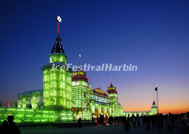 Harbin Ice Sculptures