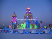 Harbin Ice Festival Buildings