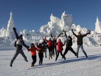 Harbin Ice Festival Snow Sculptures