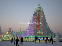 Harbin Ice Festival Ice Buildings