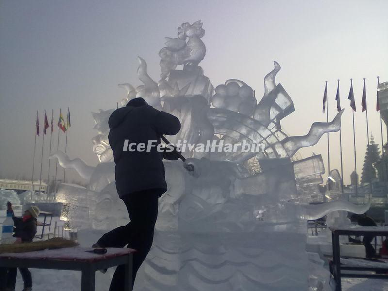 International Ice Sculpture Competition in Harbin China