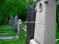 Jewish Tombs in Harbin Huangshan Cemetery
