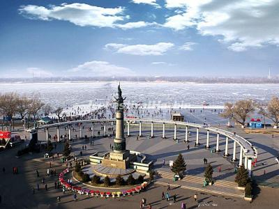 Harbin People Flood Control Success Memorial Tower