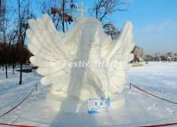 Snow Sculpture Harbin 2014: Flying