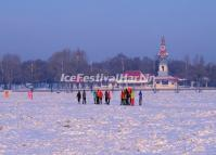 Harbin Sun Island in Snow