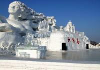 Large Size Harbin Snow Sculpture