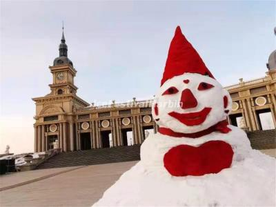 Harbin Snowman-making Contests 2021