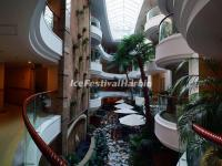 Harbin Songhua Jiang Gloria Inn Lighting Atrium