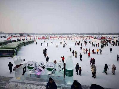 2020 Harbin Songhua River Ice and Snow Carnival