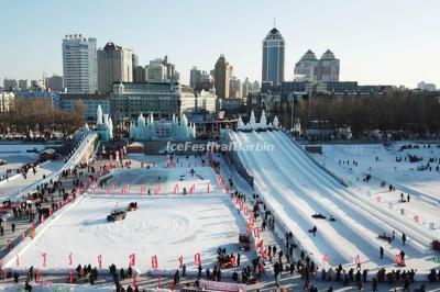 Harbin Songhua River Ice and Snow Carnival 2020