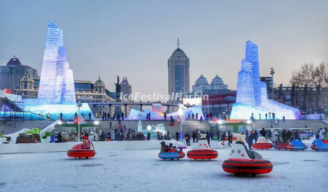 Harbin Songhua River Ice and Snow Carnival