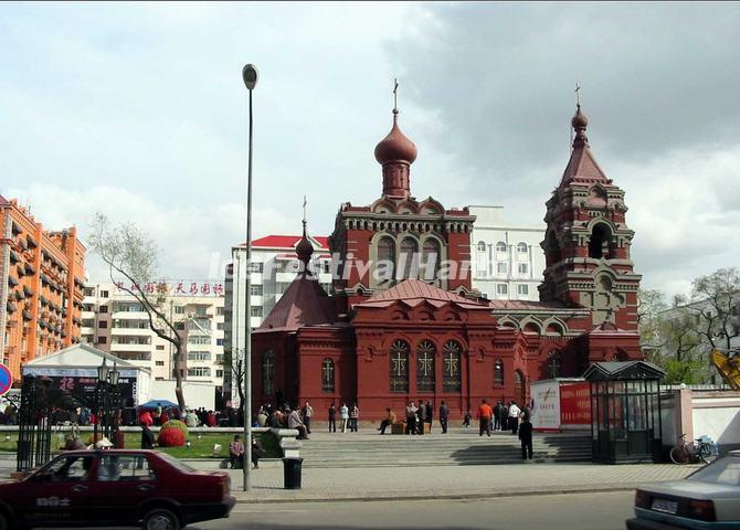 Harbin St. Alekseyev Church, Heilongjiang, China