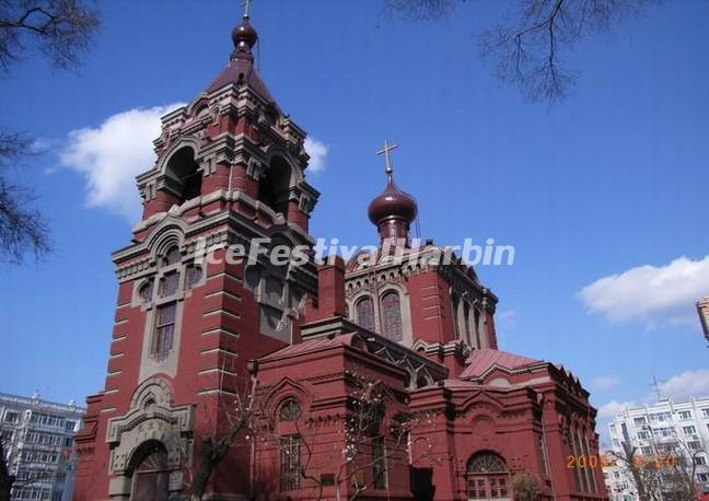 Harbin St. Alekseyev Church Exterior