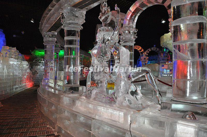 Harbin Sun Island Ice and Snow Art Gallery