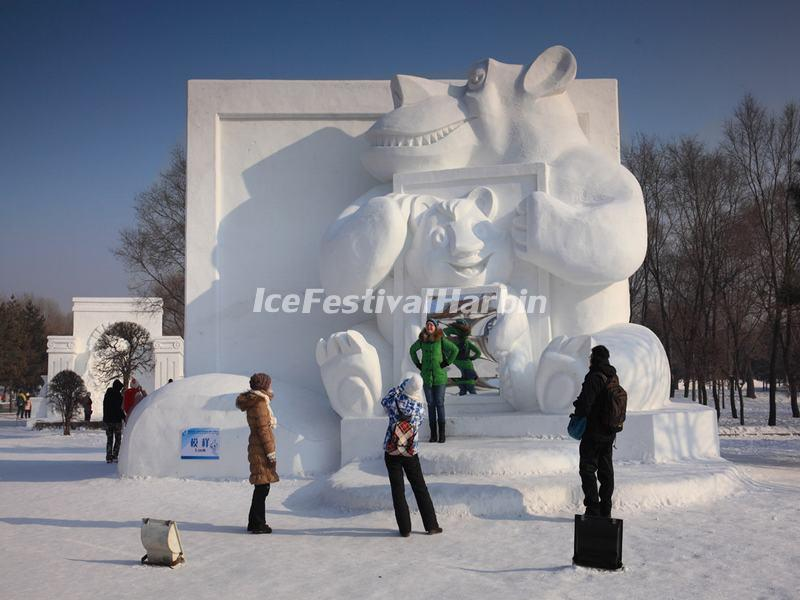 Harbin Sun Island Internatinal Snow Sculpture Art Expo
