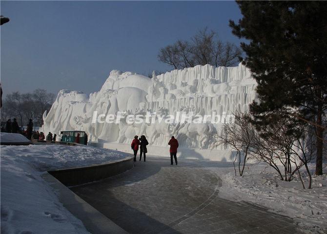 Harbin Sun Snow Sculpture 2014