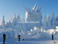 2015 Harbin Snow Sculpture - Blooming