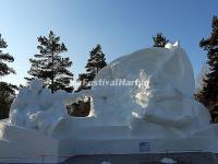 Genesis - Harbin Sun Island International Snow Sculpture Art Expo 2015