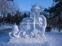 International Snow Sculpture Art Expo 2015, Harbin Sun Island
