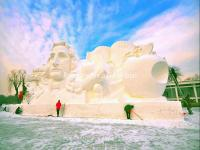 Harbin Snow Sculpture 2015