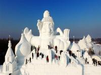 Harbin Sun Island International Snow Sculpture Art Expo 2017