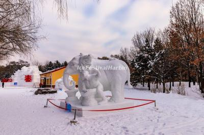 2020 Harbin Sun Island International Snow Sculpture Art Expo
