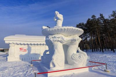 Harbin International Snow Sculpture Art Expo 2020