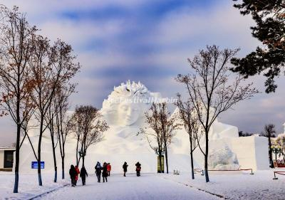 Harbin Snow Sculpture 2020