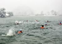 Harbin Songhua River Winter Swimming Contest