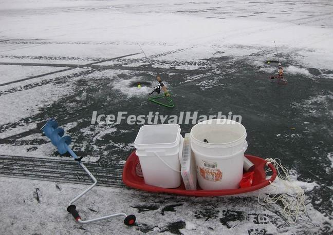 Harbin Winter Fishing