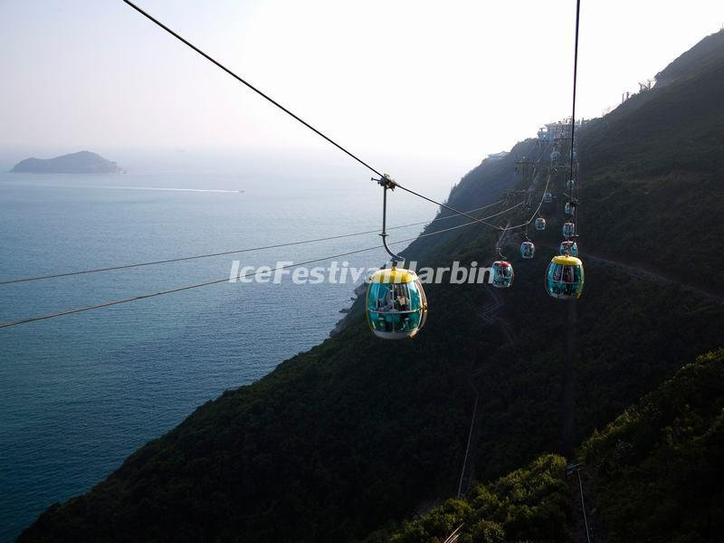 Hong Kong Ocean Park Cable Car