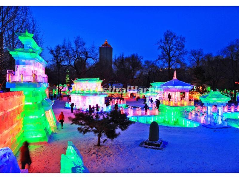 Beijing Ice Lantern Fair 2015