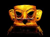 The Gold Mask in Jinsha Site Museum