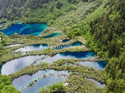 The Shuzheng Lakes in Jiuzhaigou