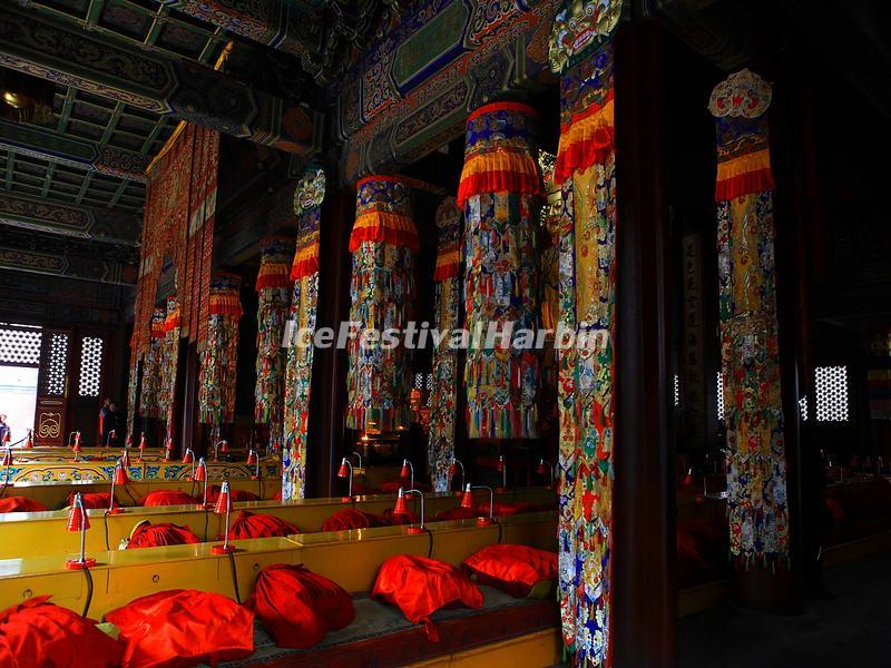 Inside Lama Temple